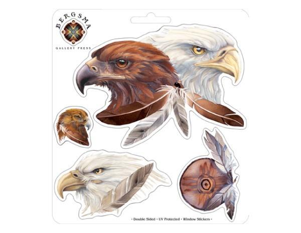 "SKY770 Bergsma Gallery ""Eagle Spirit"" Sticker"