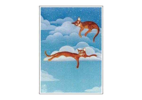 MG22 Cloud Cats magnet