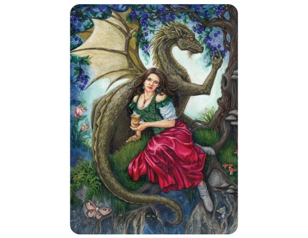 "STAR168 Jane Starr Weils ""Dragon's Wine"" Sticker"