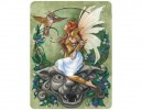 "STAR169 Jane Starr Weils ""Gargoyle Guardian"" Sticker"