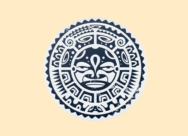 "SKY136 Starshine Arts 3"" Mayan Sticker"