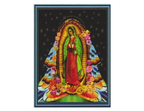 "SKY834 Fractal Spirit ""Mother of Mexico"" Sticker"