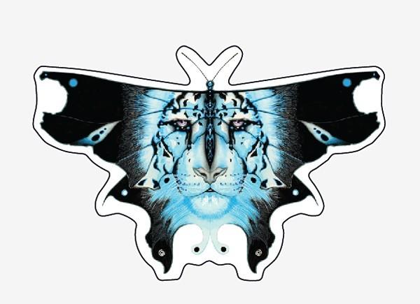 """STAR236 L.A. Wiliams """"Felis"""" Sticker"""
