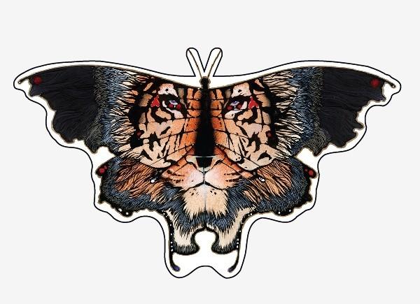 """STAR237 L.A. Wiliams """"Tigris"""" Sticker"""