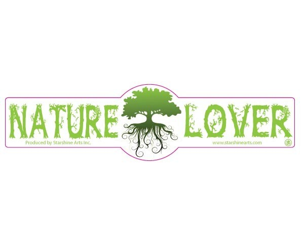"PC504 Starshine Arts "" Nature Lover""  Sticker"