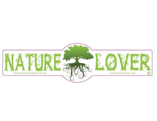 "PC504 Starshine Arts "" Nature Lover""  Sticker"
