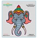 "STAR275 4.5"" ""Don't Mess With Ganesh"" Sticker"