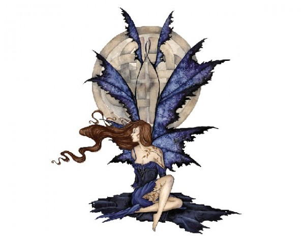 "SKY689 Amy Brown Sticker ""Sapphire"""