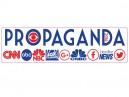 """PC526 Starshine Arts """"Propaganda"""" Bumper Sticker"""