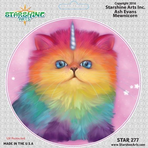 "STAR277 4.5"" ""Mewnicorn"" Sticker"