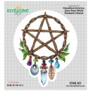 "STAR301 4.5"" ""Pentacle Charm"" Sticker"