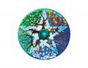 "SKY309 Fiona McAuliffe 3"" 11 Mandala Sticker"