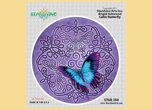 "STAR288 4.5"" ""Celtic Butterfly"" Sticker"