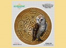 "STAR290 4.5"" ""Celtic Owl"" Sticker"