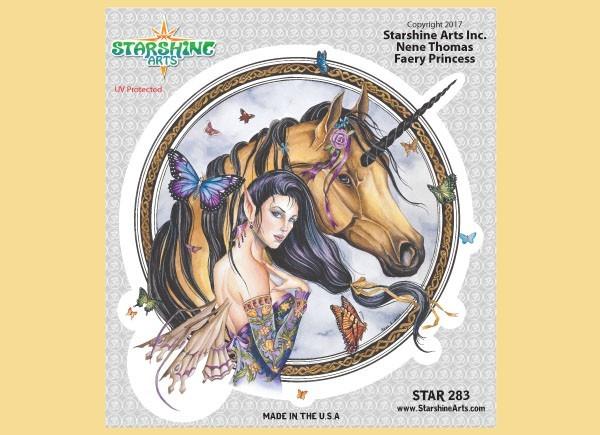 "STAR283 4.5"" ""Faery Princess"" Sticker"