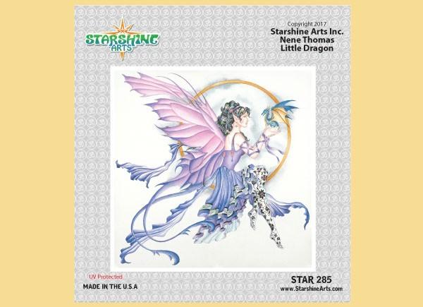 """STAR285 4.5"""" """"Little Dragon"""" Sticker"""