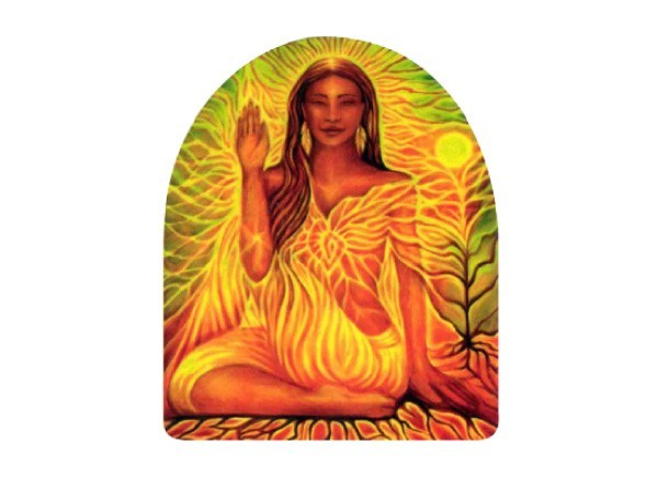 """STAR119 Spectral Emanations """"Rooted In Love"""" Sticker"""
