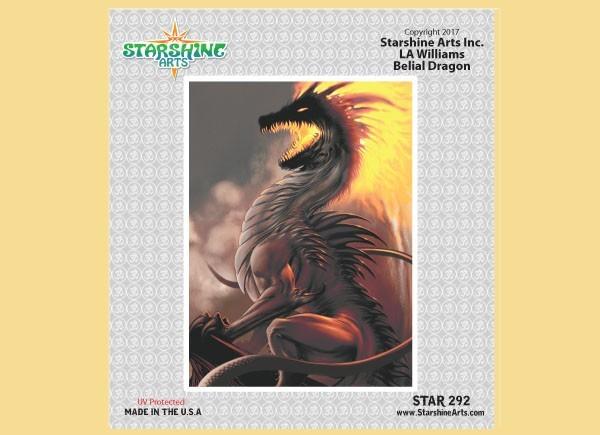 "STAR292 4.5"" ""Belial Dragon"" Sticker"