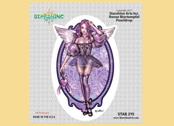"STAR295 4.5"" ""Pearldrop Fairy"" Sticker"