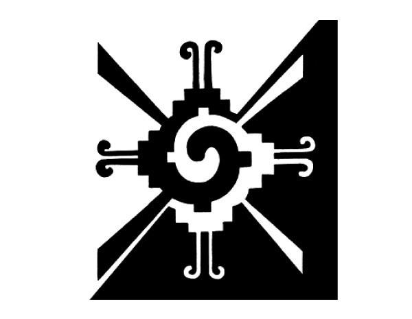 """SKY328 4.5"""" Hunabku Sticker"""