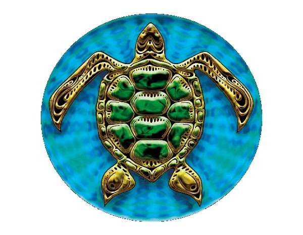 "SKY349 4.5"" ""Sea Turtle"" Sticker"