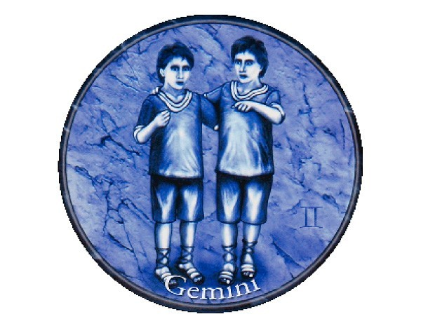 "SKY119 Starshine Arts 3"" Gemini Sticker"