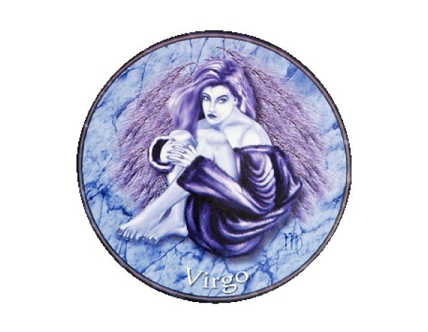 "SKY122 Starshine Arts 3"" Virgo Sticker"