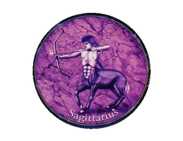 "SKY127 Starshine Arts 3"" Sagittarius Sticker"