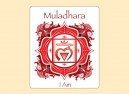 "SKY801 Starshine Arts 3"" Muladhara Sticker"