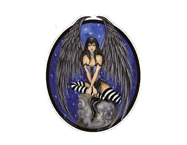 "SKY599 Amy Brown Sticker ""Midnight Fairy"""
