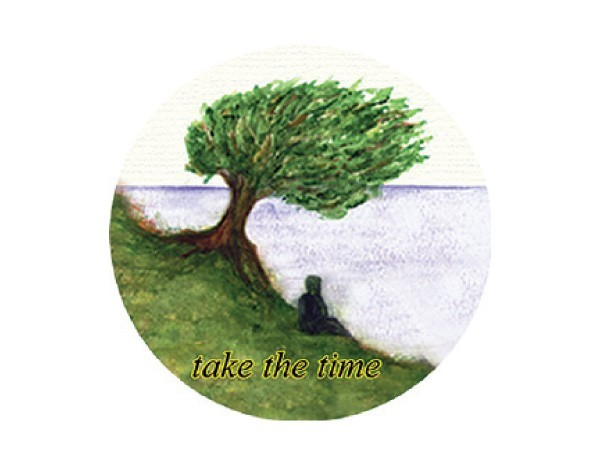 "SKY174 Root Concepts 3"" ""Take The Time"" Sticker"
