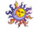 "SKY1 Net Sales ""Morris Sun/Moon"" Sticker"