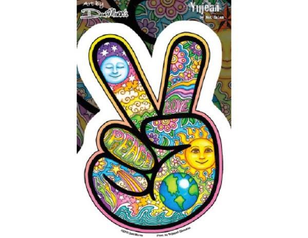 """SKY3 Net Sales """"Morris Peace Sticker"""" Sticker"""