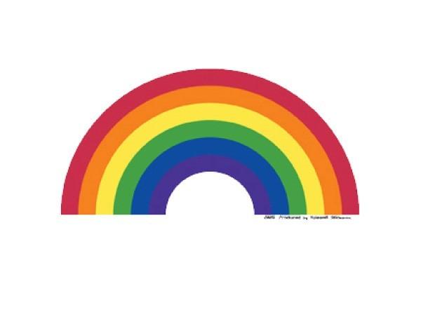 "SKY8 Net Sales ""Rainbow"" Sticker"