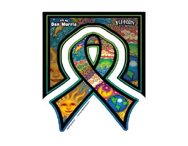 "SKY12 Net Sales ""Morris Ribbon"" Sticker"