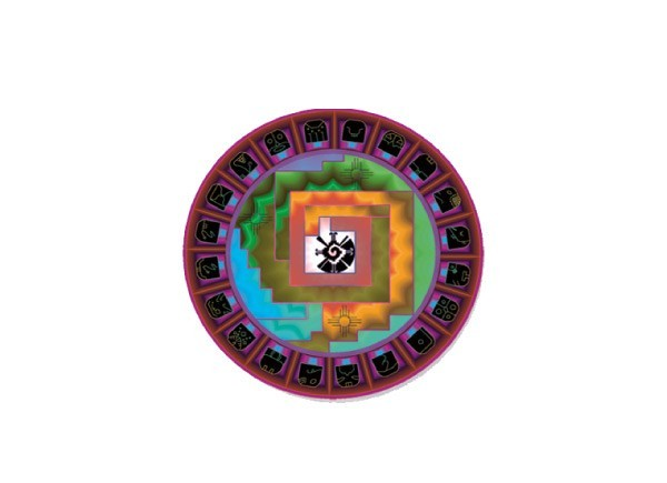 "SKY821 LightSource Arts ""Kaballah Tree of Life"" Sticker"