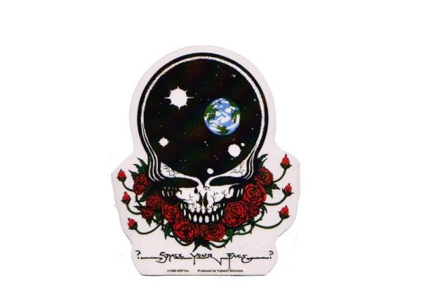 """SKY13 Grateful Dead """"Space Your Face"""" Sticker"""