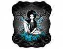 "STAR154 Myka Jelina Celtic Lotus"" Sticker"
