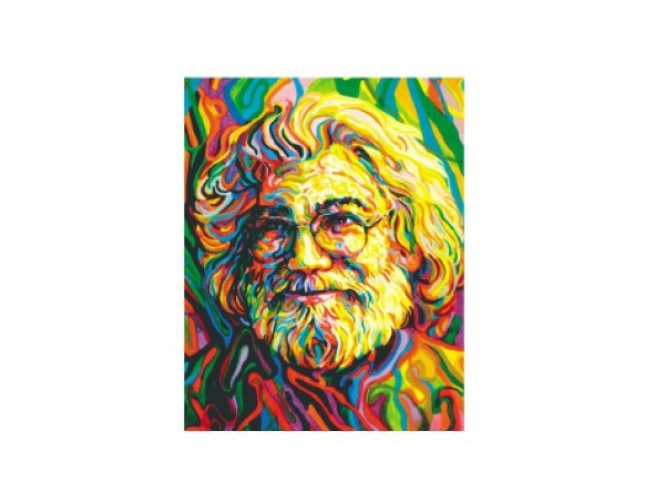 "SKY443 Grateful Dead ""Jerry Portrait"" Sticker"