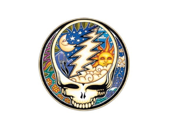 "SKY925 Grateful Dead ""Night/Day Steal Your Face"" Sticker"