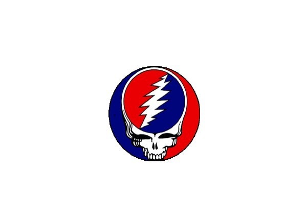 "SKY571 Grateful Dead ""4.5 Inch Steal Your Face"" Sticker"
