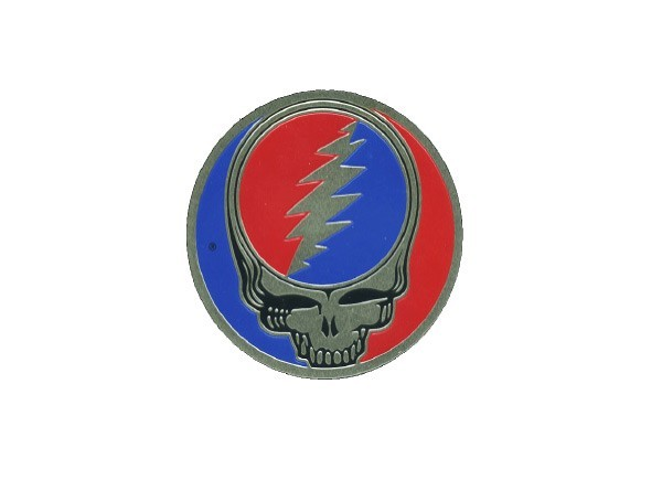 "SKY573 Grateful Dead ""2 Inch Steal Your Face"" Sticker"