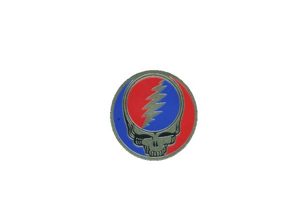 "STAR11 Grateful Dead ""3.25 Inch Metal Steal Your Face"" Sticker"