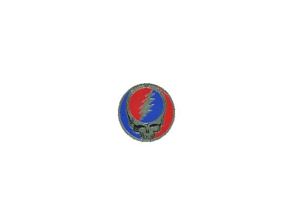 "STAR13 Grateful Dead ""1 Inch Metal Steal Your Face"" Sticker"
