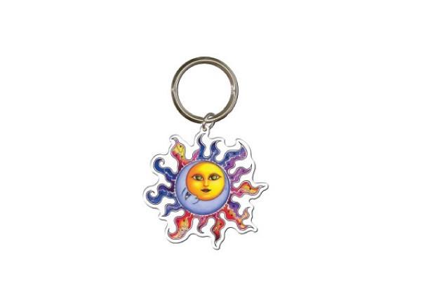 """KC9 """"Sun Moon"""" Keychain"""