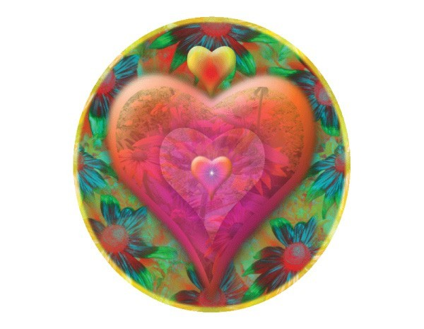 "STAR142 Alix Mullins ""Heart of Flowers"" Sticker"