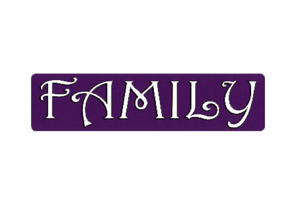 "JR108 New sKool ""Family"" Mini Bumper Sticker"