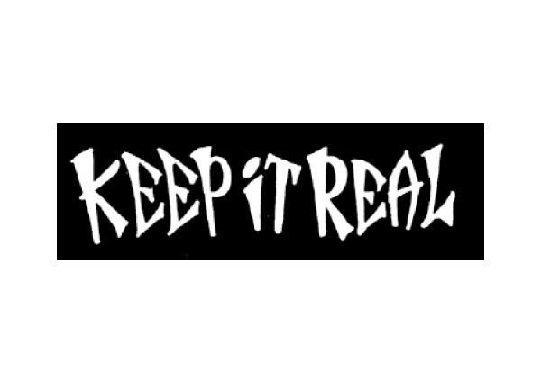 "JR4 Root Concepts ""Keep It Real"" Mini Bumper Sticker"