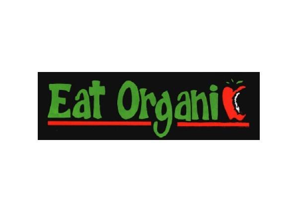 """JR5 Root Concepts """"Eat Organic"""" Mini Bumper Sticker"""