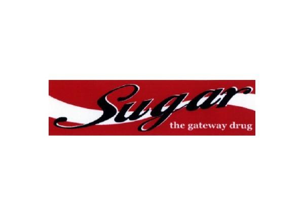 "JR120 Root Concepts ""Sugar the Gateway Drug"" Mini Bumper Sticker"